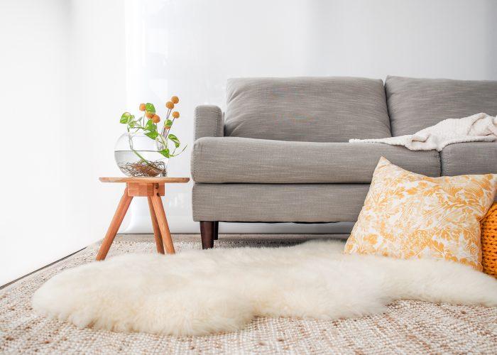 Woola Sheepskin Rug Home Styling